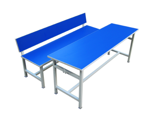Qzee Furniture - Student Desk And Benches